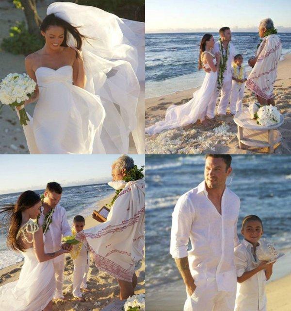 Свадьба Меган Фокс и Брайана Остин Грина, 2010 г.