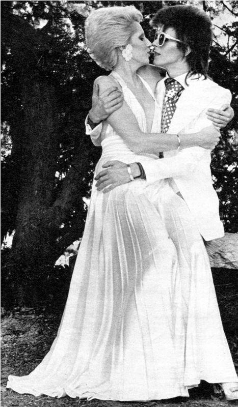 Энджи и Дэвид Боуи, свадьба, 1970 г.
