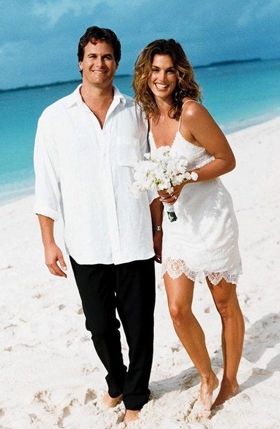 Синди Кроуфорд, свадьба, 1998 г.