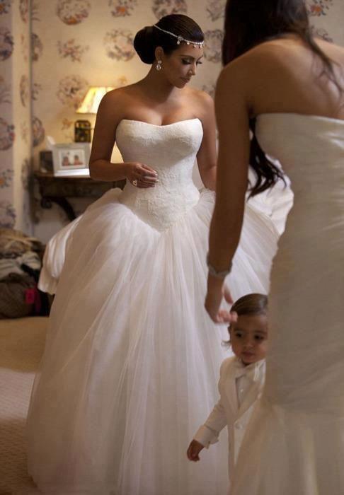 Свадьба Ким Кардашьян и Криса Хамфриса, 2011 г.