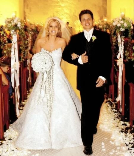 Свадьба Джессики Симпсон 2002 г.