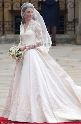 Свадебный образ Кейт Миддлтон, 2011 г.